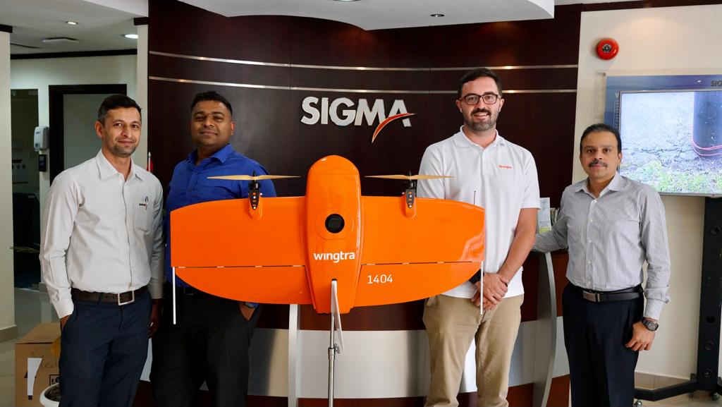 Wingtra One Surveying Drone