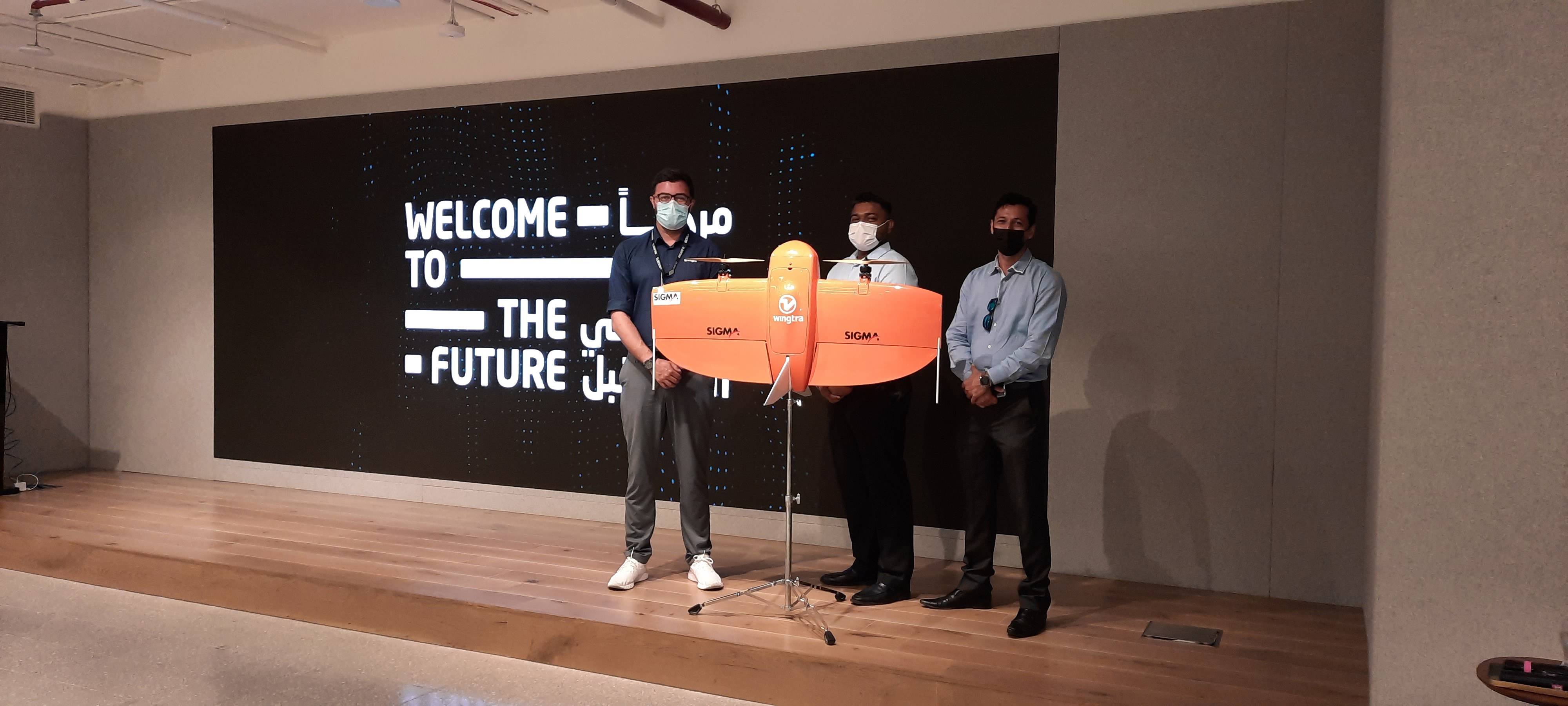 Wingtra One is among 5 finalist shortlisted for Dubai Future Accelerators program