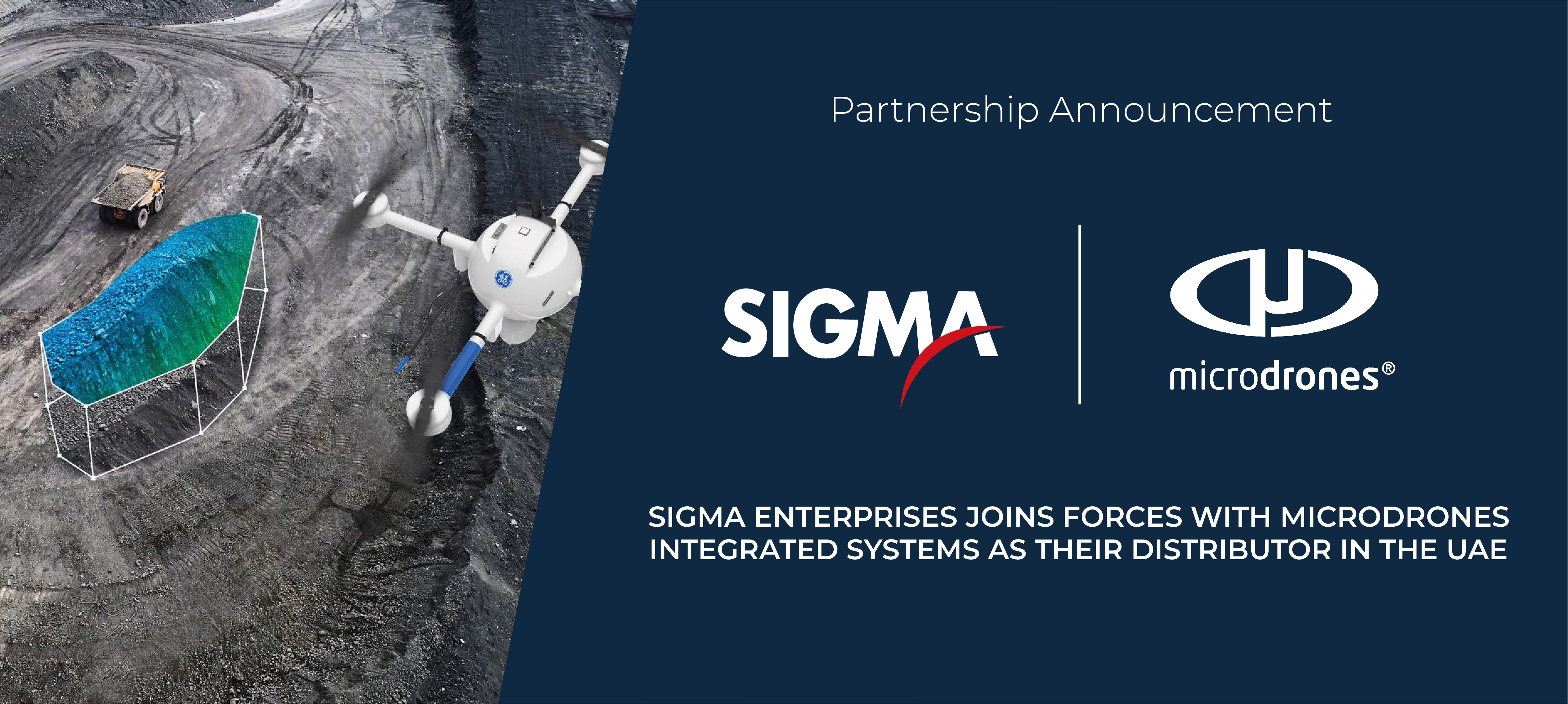 SIGMA ENTERPRISES JOINS FORCES WITH MICRODRONES INTEGRATED SYSTEMS ASTHEIR DISTRIBUTOR IN THE UAE