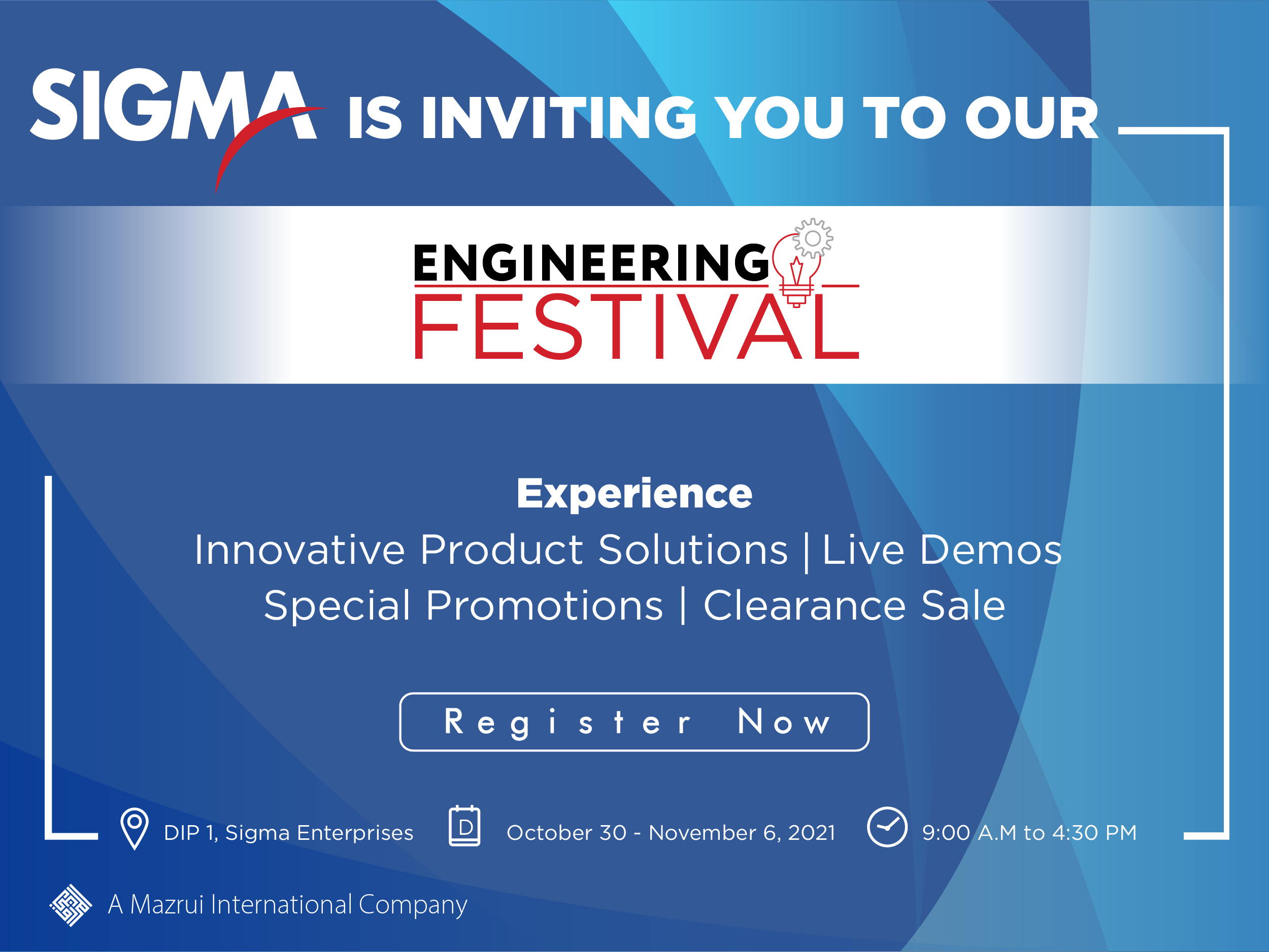 Sigma Annual Engineering Festival