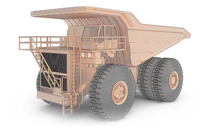 Automatic Grease Lubrication for Mining Trucks
