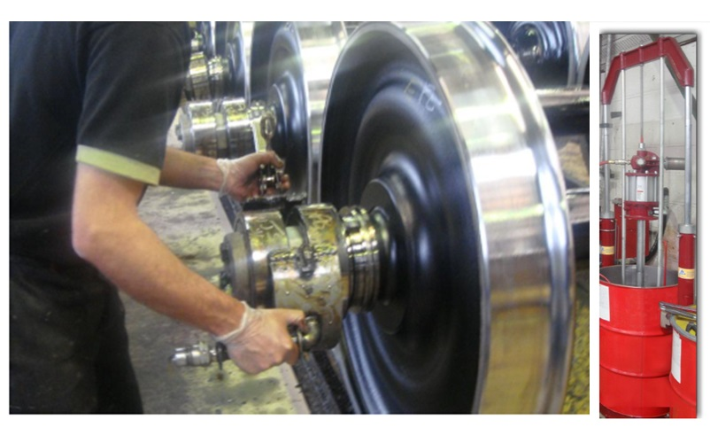 Lubrication for Wheelset Axles
