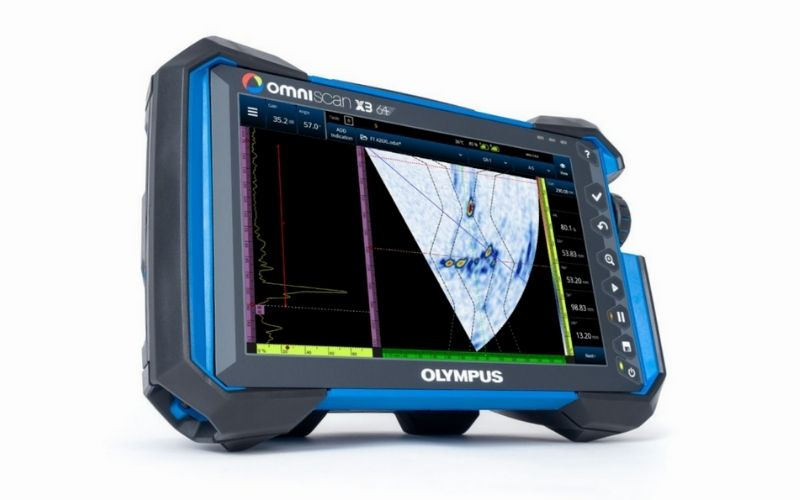 Phased Array Flaw Detector OmniScan® X3