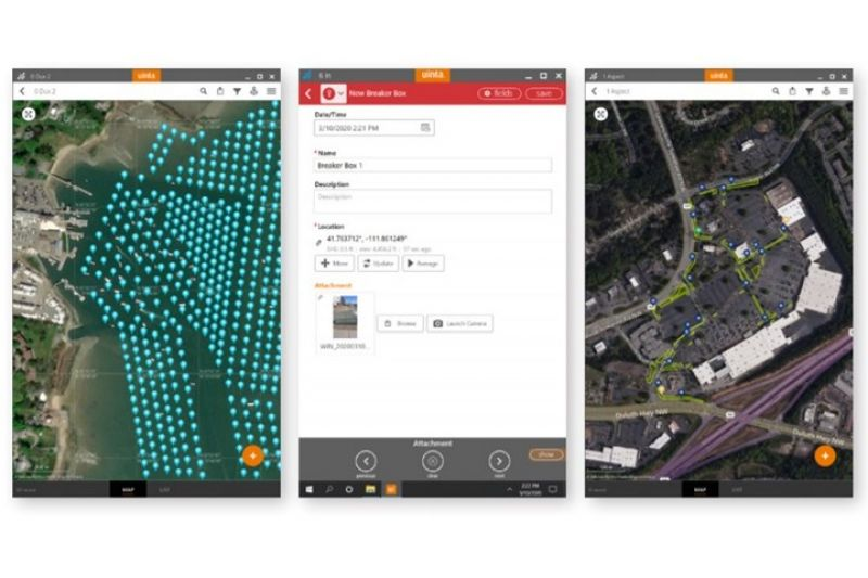 Uinta™ Mapping and Data Collection Software